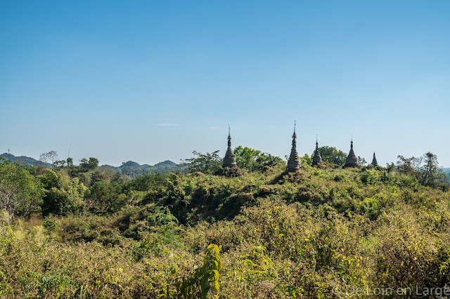 Colline de Lawkamanaung-Mrauk-U-Birmanie-Myanmar