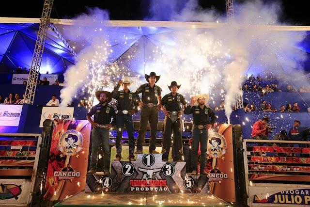 Resultado final do Canedo Rodeio Fest Show