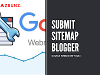 Cara Submit Sitemap Blogspot ke Google Webmaster Tools