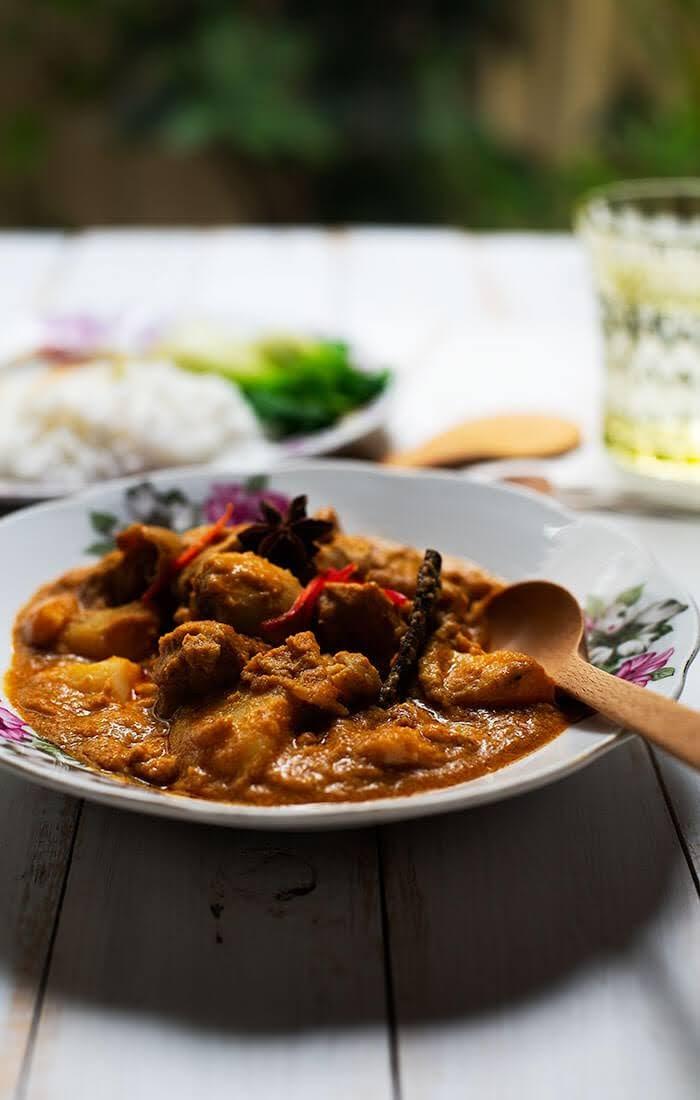 Curry chicken Malaysian recipe