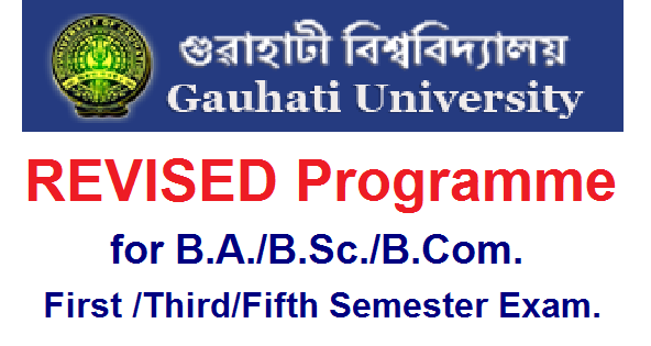 GU REVISED Programme