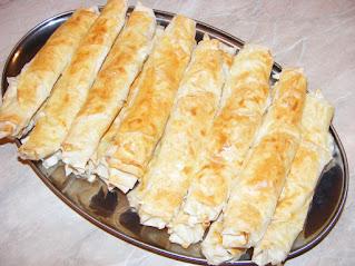 Retete placinte tigarete cu foi yufka si branza sarata la cuptor reteta de casa turceasca,