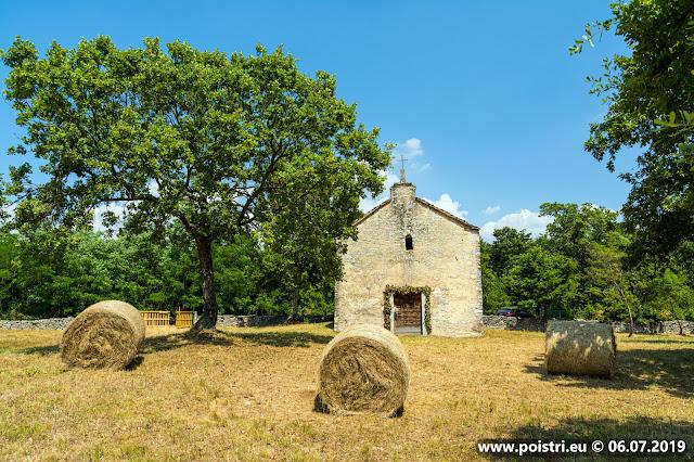 Po istri putopis: Od Vidulini do Limskog zaljeva 06.07.2019 @ crkva svete Agate