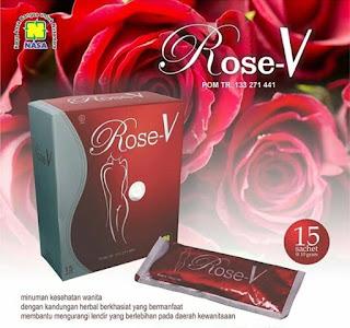 Rose V minuman khusus wanita membuat miss v harum keset dan sehat