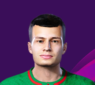 PES 2020 Faces Daniil Kulikov by Korneev