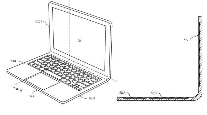 الجيل المقبل من MacBook قد يضم مفصل قابل للإنحناء
