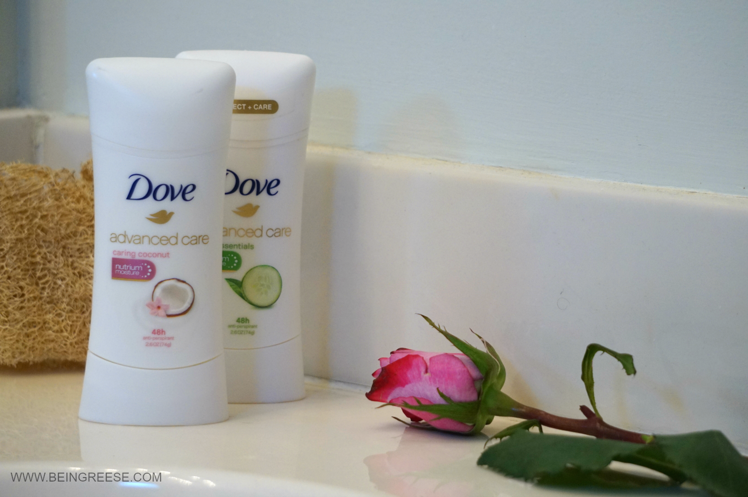 My on the go beauty routine with  Dove Advanced Care Deodorant