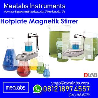 Hotplate magnetik Stirrer adalah