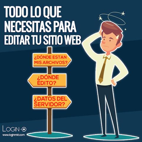 ¿Qué necesitas para editar tu página web? - 2021