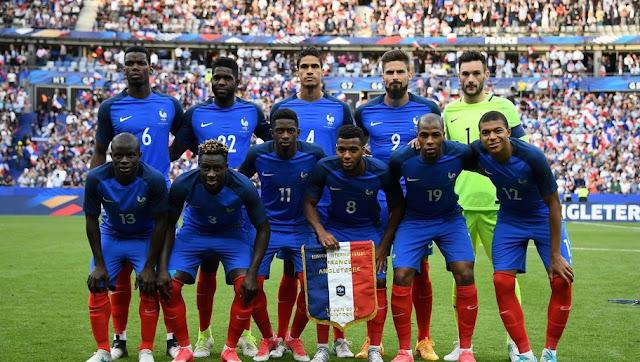 équipe de France Coupe du Monde