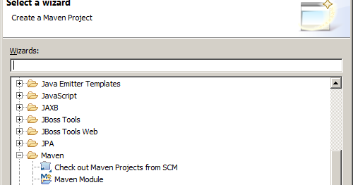 Creating JSF/CDI Maven project on Eclipse