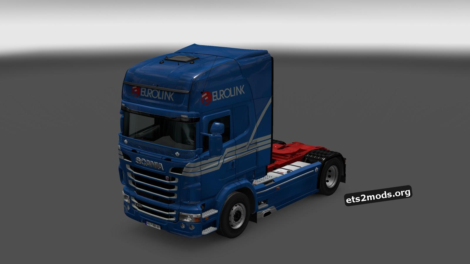 Eurotrans Skin for Scania RJL
