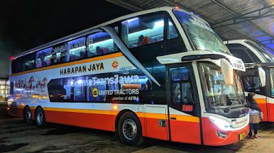 Foto Bus Harapan Jaya Tingkat 508
