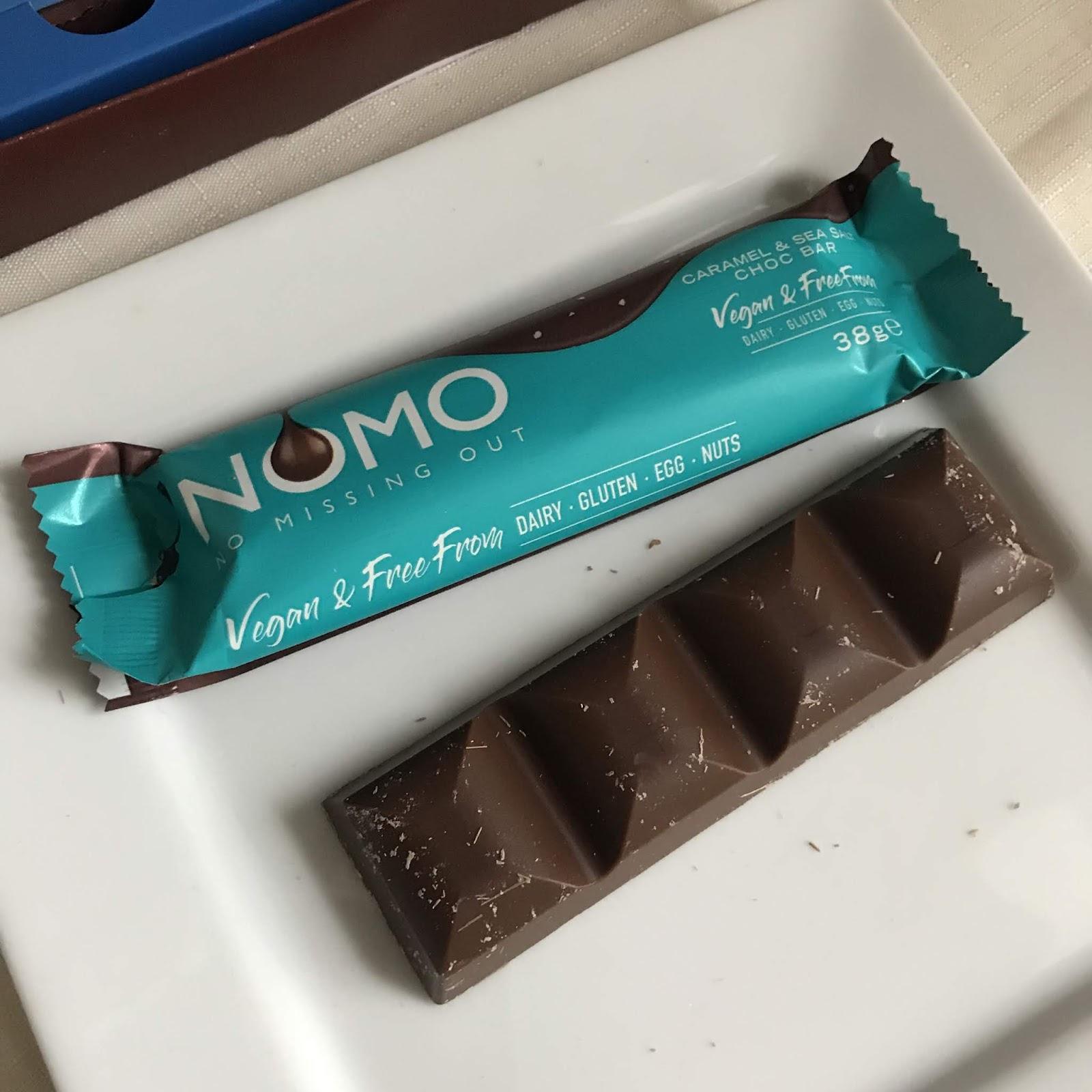 Nomo Dairy Free Vegan Chocolates Review