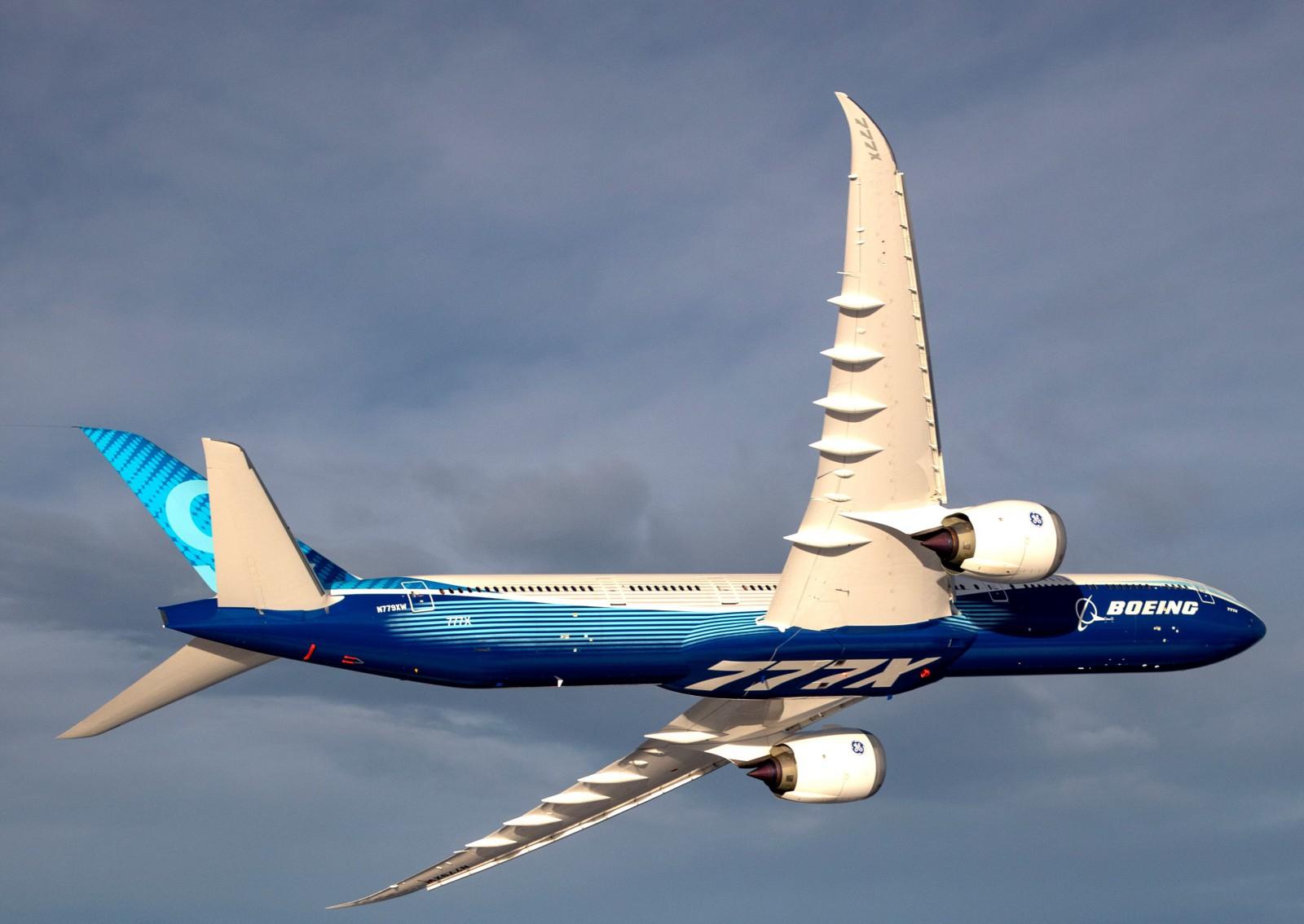 Boeing Resumes 777X Certification Flights