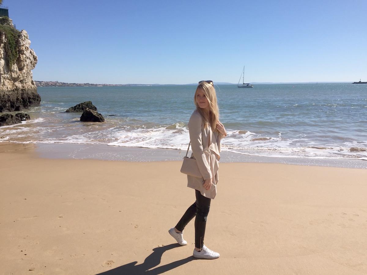 Cascais Strand Küste Tagesausflug Lissabon Tagestrip Daytrip Travelguide Reiseführer Tipps