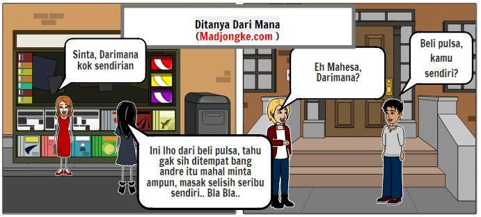 komik perbedaan pria dan wanita