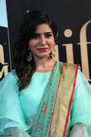 Samantha Ruth Prabhu Smiling Beauty in strange Designer Saree at IIFA Utsavam Awards 2017  Day 2  Exclusive 08.JPG