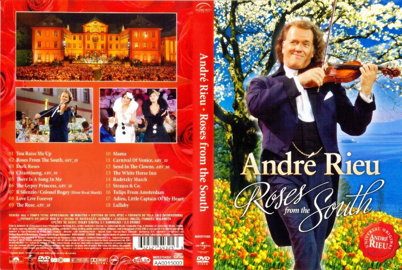 Hotel Carmen Roses Andre Rieu Roses From The South Dvd Fongumes
