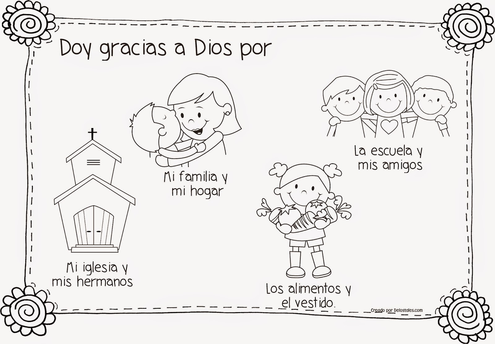 De los tales: Familias agradecidas