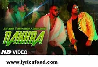 NAKHRA LYRICS – Deep Money (Translation)