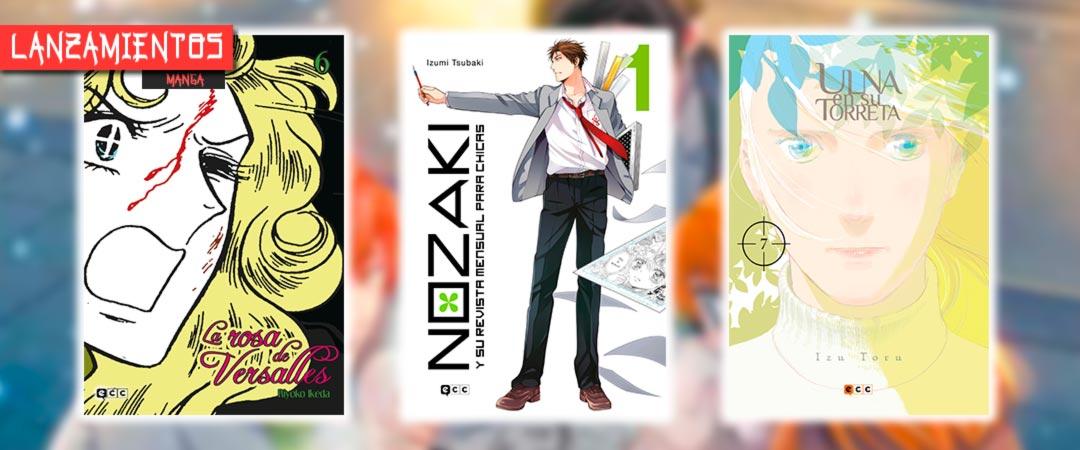 Novedades ECC Ediciones abril 2021 - manga