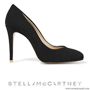 Crown Princess Victoria wore Stella McCartney faux suede pumps