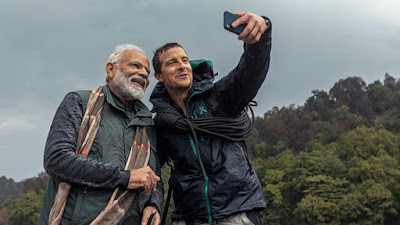 PM Modi, on Man vs Wild show along with Bear Grylls