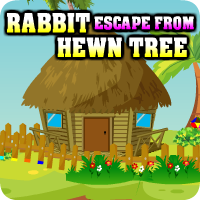 AvmGames Rabbit Escape From Hewn Tree