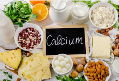 Consumption of calcium food for health