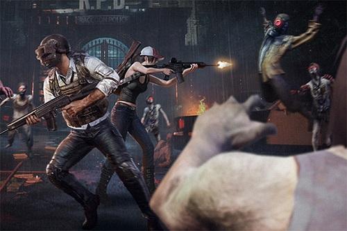 Đối đầu và cạnh tranh cùng bè đảng zombie rất cần sự kết hợp giữa các đồng đội trong vòng nhóm