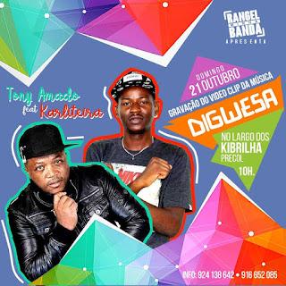 Tony Amado Feat. Karliteira - Digweza (Kuduro)