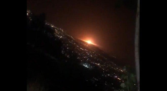 Capital do Irã, Teerã é atingida por explosão durante a noite