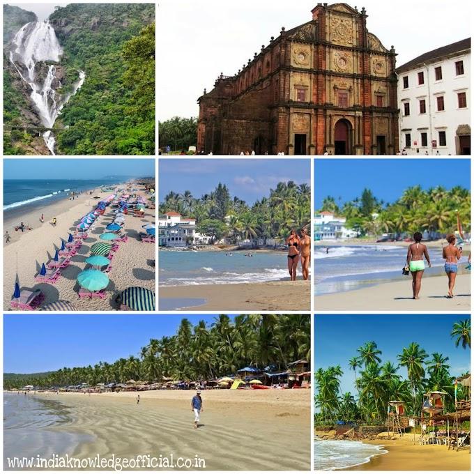 गोवा में घूमने लायक 10 प्रसिद्ध जगह