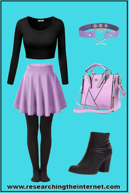 pastel goth outfits