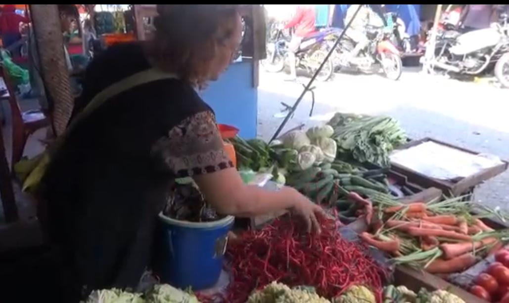 Harga Cabai di Tanjungbalai semakin  Pedas, Warga Mengeluh