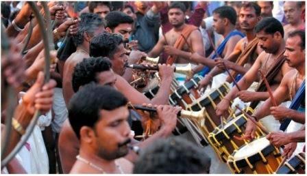 kerala panchavadyam