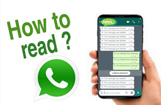 How to read deleted message on whatsapp
