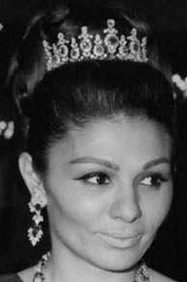 ruby diamond tiara iran princess ashraf pahlavi van cleef and arpels empress farah