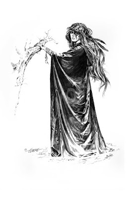 Larry Elmore's famous witch