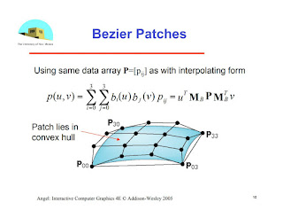 Bezier patches