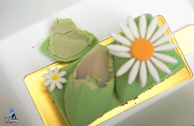香港迪士尼樂園蒂安娜 開心果荔枝慕絲蛋糕, Hong Kong Disneyland Tiana Pistachio Lychee Mousse Cake