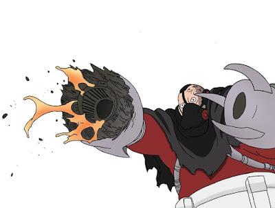 Garo karakter anime boruto