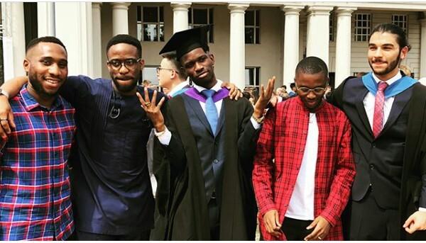 Governor Okowa's son graduates from UK University