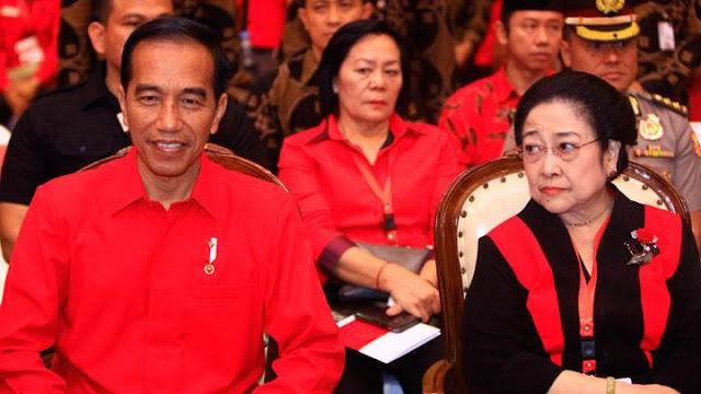 Jokowi dan Megawati Akan Beri Sambutan Saat HUT PDIP ke 48.lelemuku.com.jpg