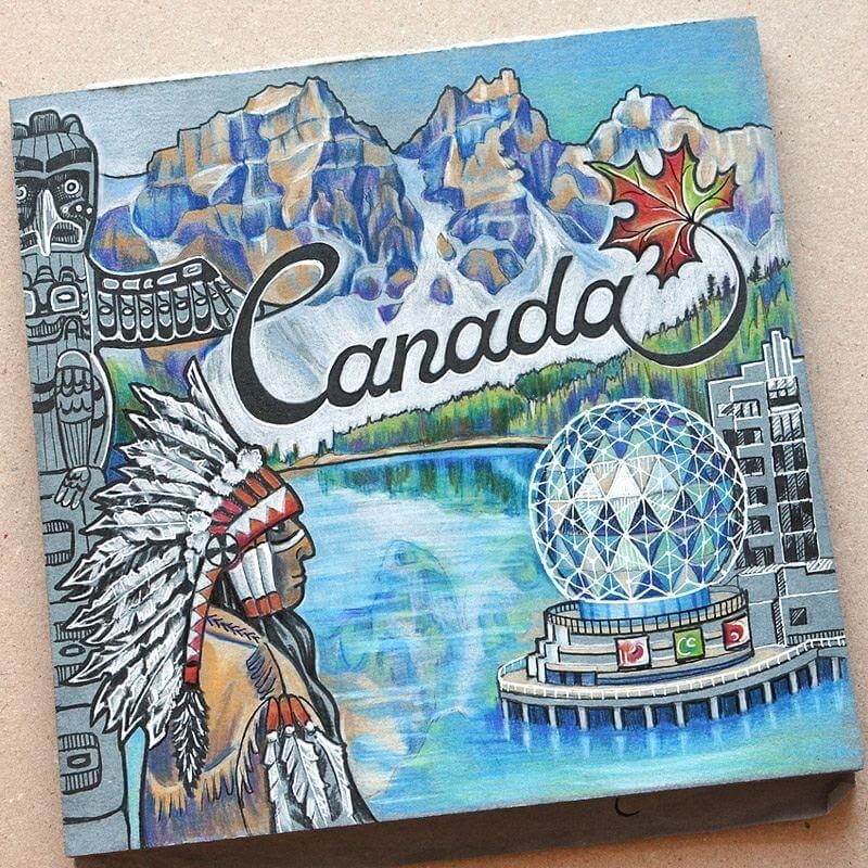 07-Canada-Anna-Cheberiak-Travel-Journal-Countries-Plus-Fantasy-Drawings-www-designstack-co
