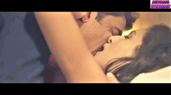 Nora Fatehi hard sex kissing scene - The Birthday Song (2018) HD 720p