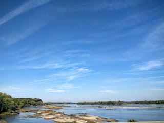 The Platte River near Mahoney State Park, Nebraska