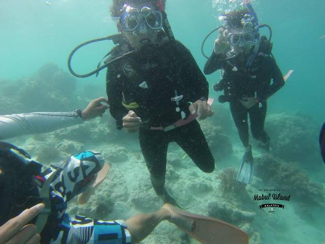 mabul island scuba diving