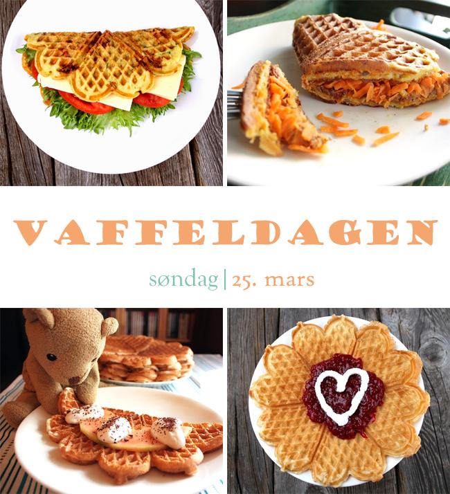 Oppskrift Veganske Vafler Vaffeldagen Uten Egg Uten Melk Eggfri Melkefri